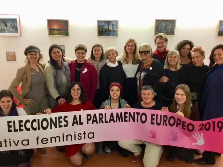 CANDIDATURA FEMINISTA AL PARLAMENTO EUROPEO