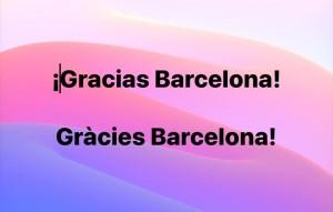 Gràcies Barcelona